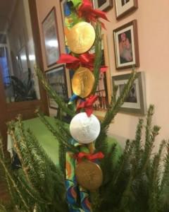 A árvore de Natal de 2016 da Katinka Hosszú