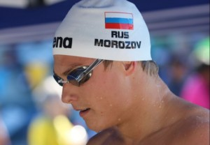 Nadador russo Vladimir Morozov